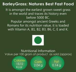 aurganic Barley Grass Powder (100gm)