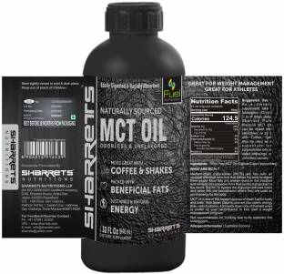 Sharrets Nutritions 100% Pure MCT Oil (32oz)