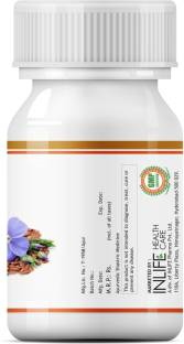 Inlife Flax Seed Oil Extra Virgin Omega 3 6 9 Supplement 500 mg (60 Capsules)