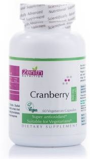 Zenith Nutrition Cranberry 800 mg Supplements (60 Capsules)