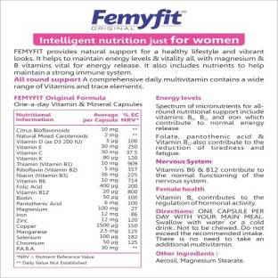 WestCoast Femyfit Original Women Multivitamin Minerals (30 Capsules)