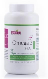 Zenith Nutrition Omega 3 EFA Supplements (240 Capsules)