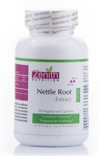 Zenith Nutrition Nettle Root Extract 300 mg Supplements (90 Veg Capsules)