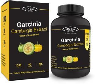 Sinew Nutrition Garcinia Cambogia Extract 1500mg Supplement (90 Capsules)