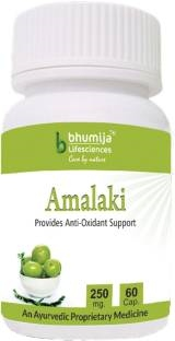 Bhumija Lifesciences Amalaki 250 mg Supplements (60 Capsules) - Pack Of 2