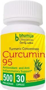 Bhumija Lifesciences Curcumin 95 Supplements (30 Capsules Pack Of 5)