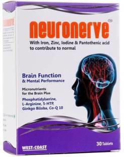 WestCoast Neuronerve Supplements (30 Capsules)