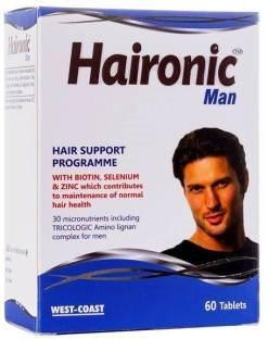 WestCoast Men Haironic Supplements (60 Capsules)