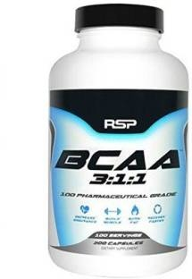 RSP Nutrition BCAA 3:1:2 Supplements (200 Capsules)
