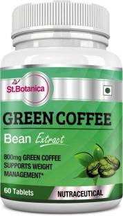 StBotanica Green Coffee Bean Extract 800mg Supplements (60 Capsuels)