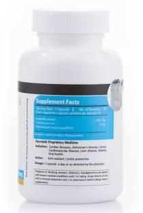 Vista Nutrition Boswellia Plus 250 mg Supplements (60 Veg Capsules)