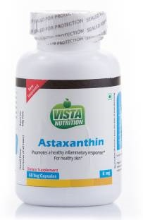 Vista Nutrition Astaxanthin 6mg Supplements (60 Capsules)