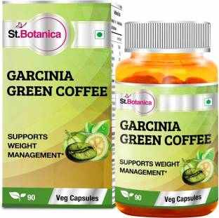 StBotanica Garcinia Green Coffee 500 mg Extract Supplements (90 Capsules)