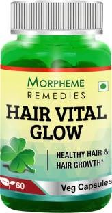 Morpheme Remedies Hair Vital Glow 500mg Supplements (60 Capsules)