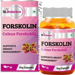 StBotanica Forskolin 500mg Supplement (90 Capsules) - Pack of 6