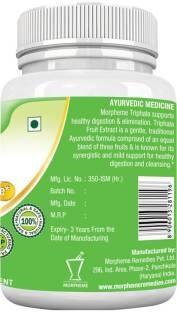 Morpheme Remedies Triphala 500mg Extract Supplements (60 Capsules)