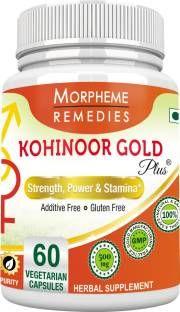 Morpheme Remedies Kohinoor Gold Plus Supplements (60 Capsules)