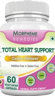 Morpheme Remedies Total Heart Support 500 mg Extract Supplements (60 Capsules)