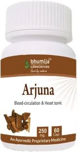 Bhumija Lifesciences Arjuna 250mg Supplements (60 Capsules)