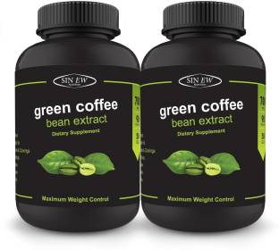 Sinew Nutrition Green Coffee Bean Extract 700 mg Supplements (90 Capsules, Pack of 2)