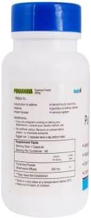 Healthvit Punarnava Powder 250mg Supplement (60 Capsules)