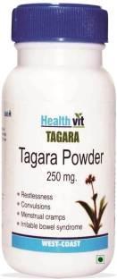 Healthvit Tagara Powder 250 mg Supplements (60 Capsules)