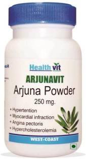 Healthvit Arjunavit Arjuna Powder 250mg Supplement (60 Capsules)