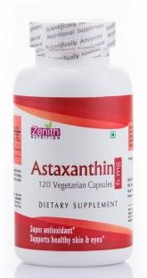 Zenith Nutrition Astaxanthin 6mg Supplements (120 Capsules)