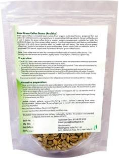 Sinew Nutrition Green Coffee Beans (400gm, Coffee)
