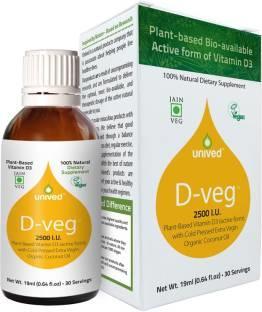 Unived D-Veg 2500IU Supplement (19ml)