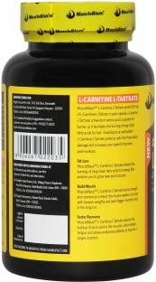MuscleBlaze L-Carnitine L-Tartrate (60 Capsules) Unflavoured