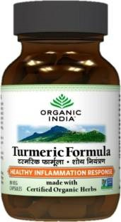 Organic India Turmeeric Formula Supplement (60 Capsules)