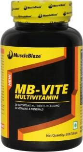 MuscleBlaze MB-Vite Multivitamin Supplement (60 Tablets)