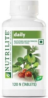 Amway Nutrilite Daily Unflavoured (120 Capsules)