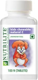 Amway Nutrilite Kids Chewble Natural C (100 Tablets)