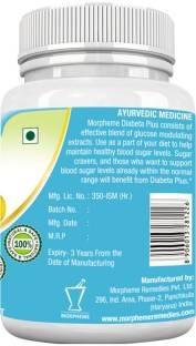 Morpheme Remedies Diabeta Plus 500mg Extract Supplement (60 Capsules)