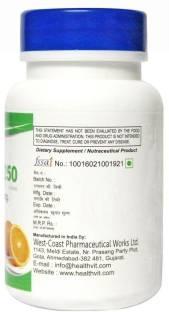 Healthvit C-Vitan 250mg Supplement (60 Tablets)
