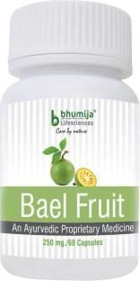 Bhumija Lifesciences Bael Fruit 250mg Supplement (60 Capsules)