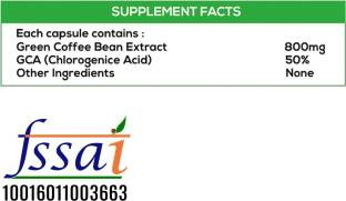 NutriHerbs Green Coffee Bean Herbs Supplement (60 Capsules) - Pack of 4