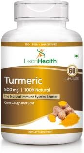 Leanhealth Turmeric 500mg Supplement (60 Capsules)