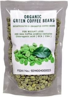 Perennial Lifesciences Organic Green Coffee Beans (1.11lbs, Coffee)