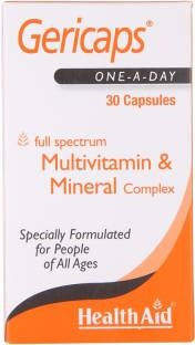 Health Aid Gericaps Multi Vitamin And Mineral Supplements (30 Capsules)