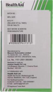 Health Aid Melatonin 3mg Supplement (60 Tablets)