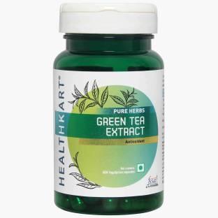 Healthkart GreenTeaExtract Supplement (60Capsules)