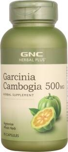 Gnc Garcinia Cambogia 500 mg Herbal Supplements (90 Capsules)