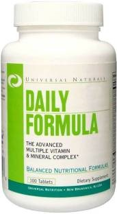 Universal Nutrition Daily Formula Vitamins (100 Capsules)