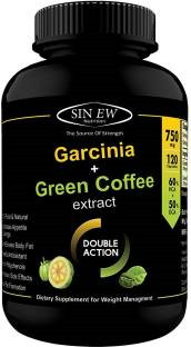 Sinew Nutrition Garcinia Plus Green Coffee 750mg Supplement (120 Capsules)