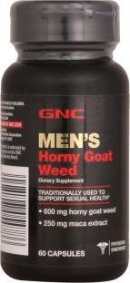 GNC Mens Horny Goat Weed Multi Vitamin Supplements (60 Capsules)
