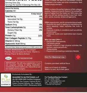 Sharrets Nutritions CPH Powder Supplement - Pack of 2