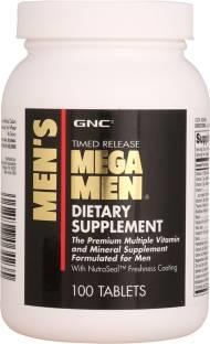 GNC Timed Release Mega Men Supplement (100 Tablets)
